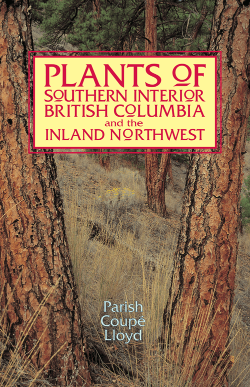 Plants of Interior BC book cover