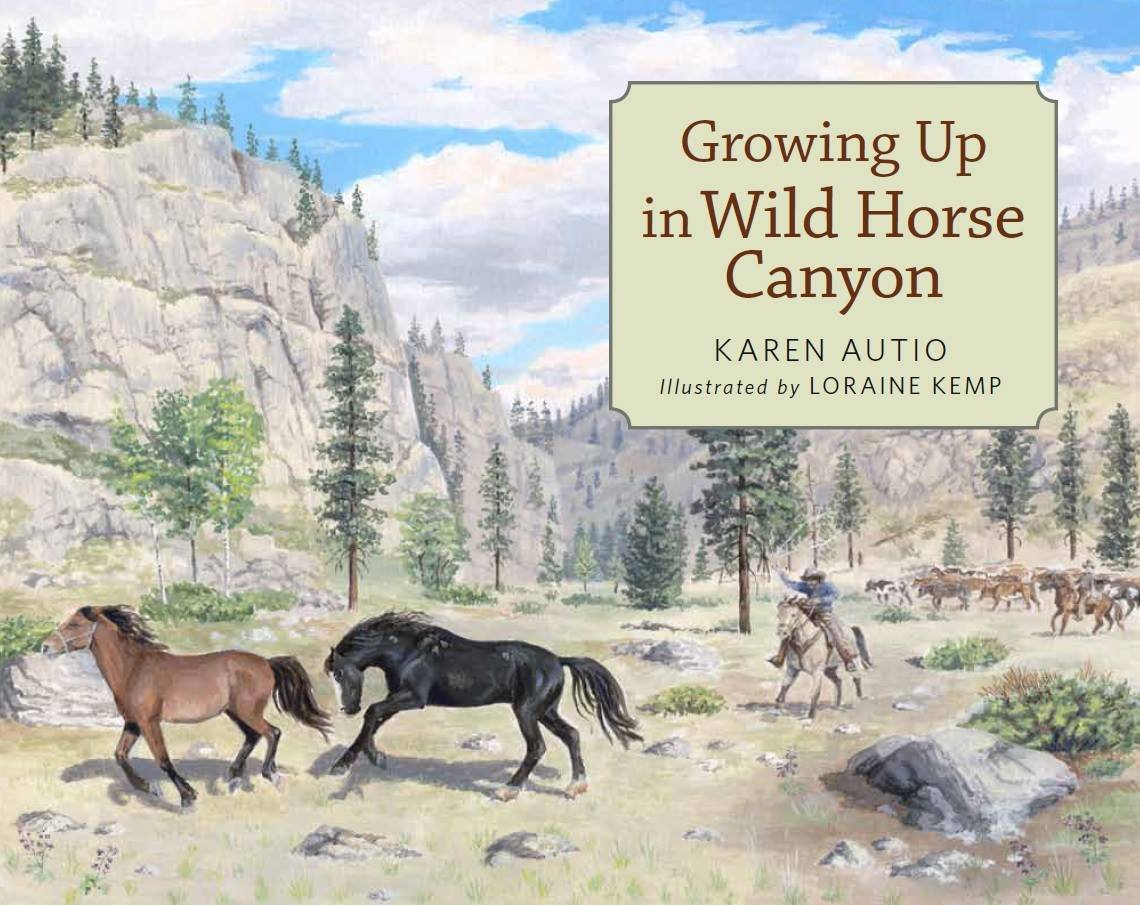 Growing Up In Wild Horse Canyon book cover